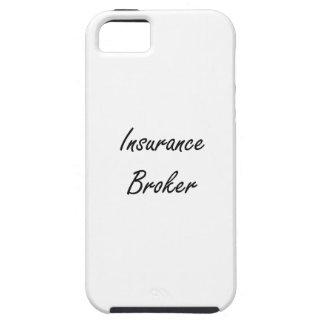 Insurance Broker Artistic Job Design Case For The iPhone 5