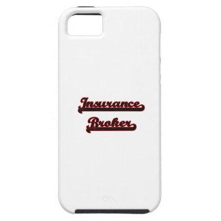 Insurance Broker Classic Job Design iPhone 5 Covers