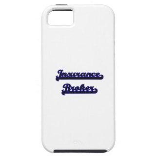 Insurance Broker Classic Job Design Tough iPhone 5 Case