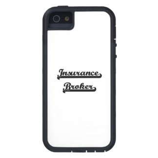 Insurance Broker Classic Job Design Case For iPhone 5