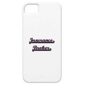 Insurance Broker Classic Job Design Case For The iPhone 5