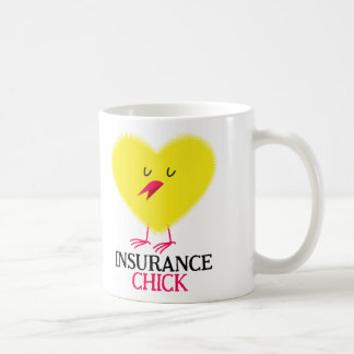 Insurance Chick mug