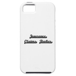 Insurance Claims Broker Classic Job Design iPhone 5 Cover