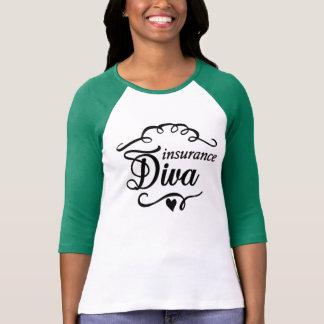 Insurance Diva Green Long Sleeved T-shirt