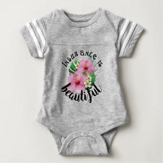 Insurance is Beautiful Baby Bodysuit