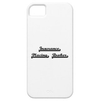 Insurance Placing Broker Classic Job Design iPhone 5 Covers