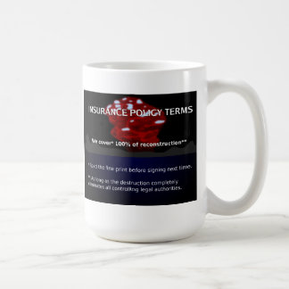 Insurance Policy Coffee Mug