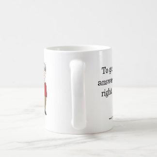 Insurance quote mug