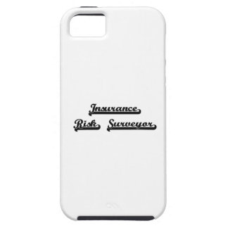 Insurance Risk Surveyor Classic Job Design iPhone 5 Covers