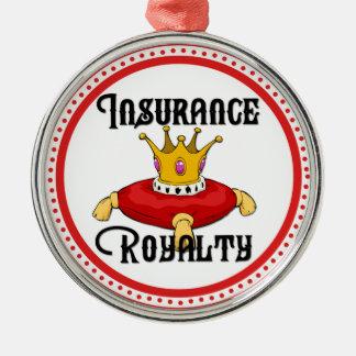 Insurance Royalty Metal Ornament