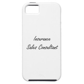 Insurance Sales Consultant Artistic Job Design iPhone 5 Covers