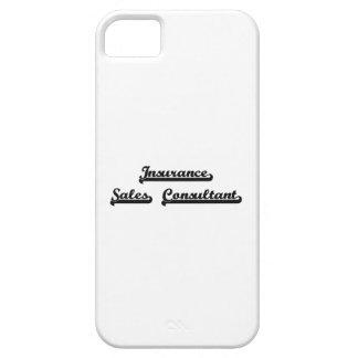 Insurance Sales Consultant Classic Job Design iPhone 5 Cover