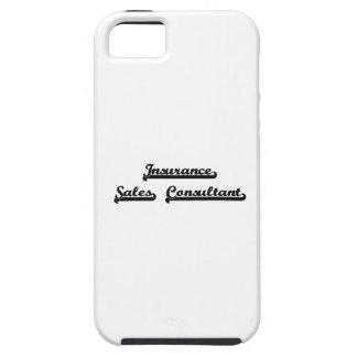 Insurance Sales Consultant Classic Job Design iPhone 5 Covers