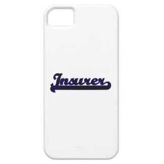 Insurer Classic Job Design Barely There iPhone 5 Case