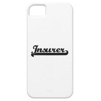 Insurer Classic Job Design iPhone 5 Cover