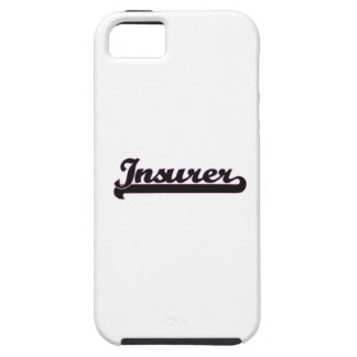 Insurer Classic Job Design iPhone 5 Cases