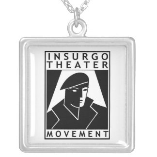 InsurgoPendant Silver Plated Necklace