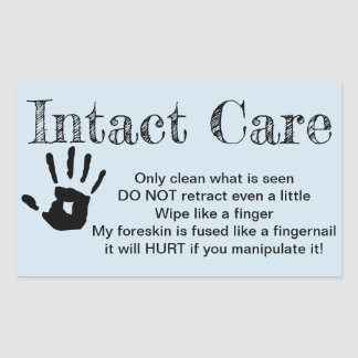 Intact Care sticker
