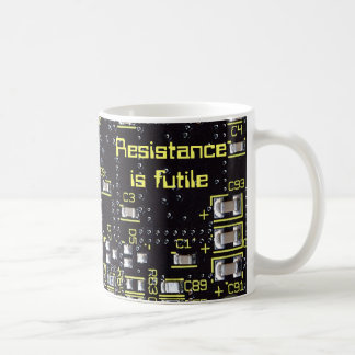 Integrated Circuit Board Mug, Glass Or Travel Mug
