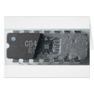 Integrated Circuit Chip Card