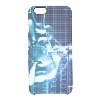 Integrated Technologies on a Global Level Concept Clear iPhone 6/6S Case