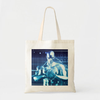 Integrated Technologies on a Global Level Concept Tote Bag