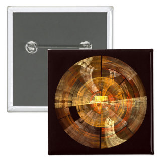 Integrity Abstract Art Button (square)