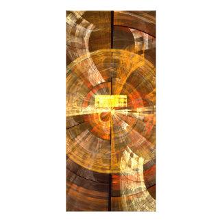 Integrity Abstract Art Rack Card