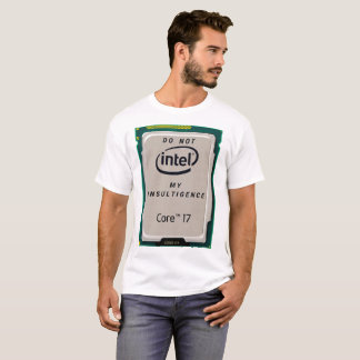 Intel Core t-shirt