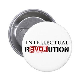 Intellectual rEVOLution 6 Cm Round Badge