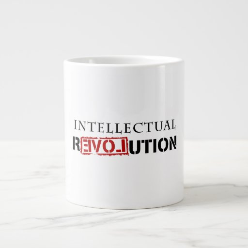 Intellectual rEVOLution Jumbo Mugs