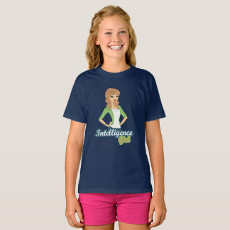 Intelligence girl T-Shirt
