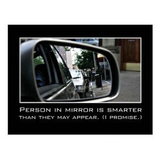 Intelligence: I'm really a lot smarter than I look Postcard