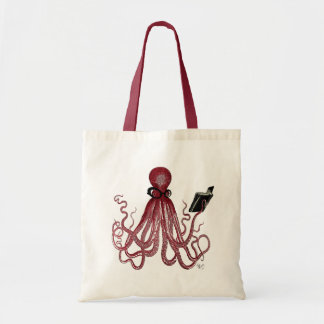 Intelligent Octopus Budget Tote Bag