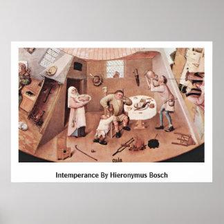 Intemperance By Hieronymus Bosch Print