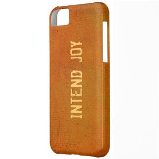 Intend Joy Affirmation iPhone 5 Case