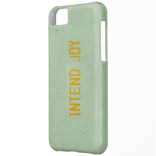 Intend Joy iPhone 5 Case