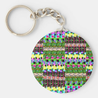 INTENSE Color Patterns Sparkles Giveaway GIFTS luv Keychain