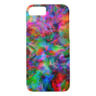 Intense Psychedelic Bright Color Swirl iPhone 8/7 Case