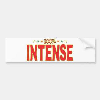 Intense Star Tag Bumper Stickers