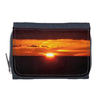 Intense sunset wallet