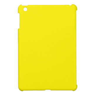 Intensely Brilliant Yellow Color Cover For The iPad Mini