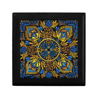 Intensity - contrast mandala pattern gift box