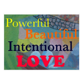 Intentional Love Postcard