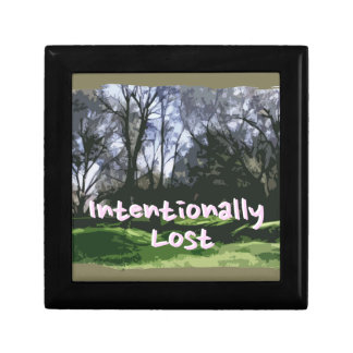 Intentionally Lost Gift Box