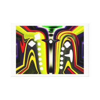 Inter-dimensional spores canvas print