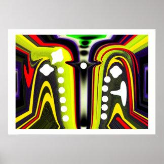 Inter-dimensional spores poster