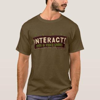 Interact! Beige Over Green T-Shirt