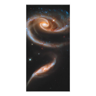 Interacting Galaxies Arp 273 UGC 1810 & 1813 Picture Card