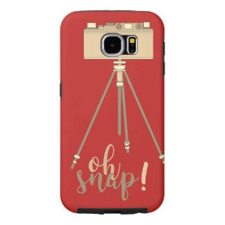Interactive Retro Design Samsung Galaxy S6 Case